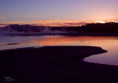 Sulfer City Sunrise (Light Knight) Tags: newzealand lake sunrise rotorua steam volcanic hotpools pentaxk10d impressedbeauty smc1645da