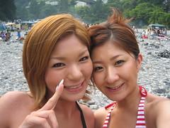 BBQ in Okutama(with Yae) (Kaori Fujimori) Tags: - 2232561815_fca7be60fe_m