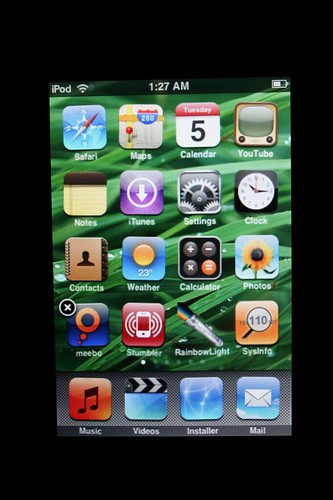 iPod touch springboard