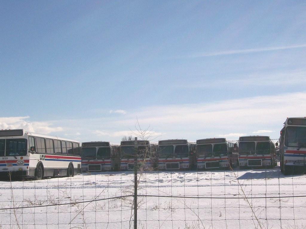 Utah Transit Authority Orion bus retirees