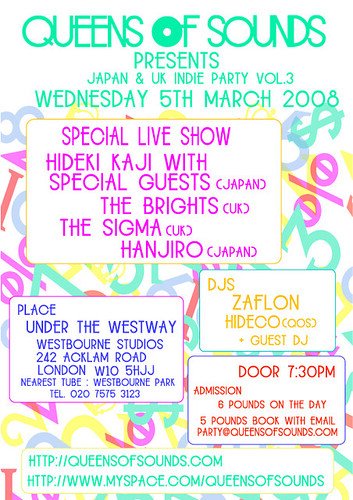 QOS Party on 5 March