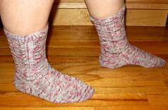 Baudelaire Socks in Dharmafey Bamboo Dexter - Side