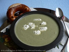 Lemon and Broccoli soup
