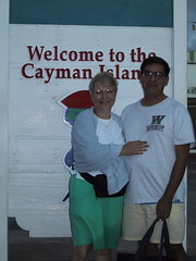 Mom and Dad at Caymans