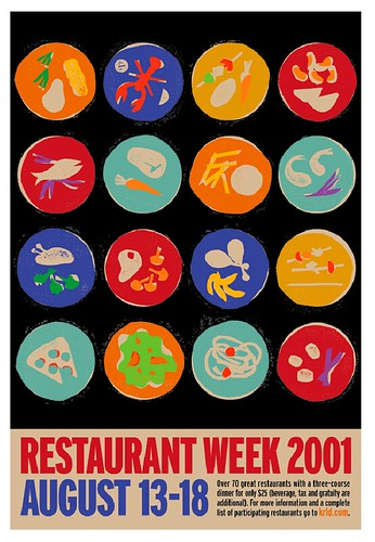 Restaurant Week Concept