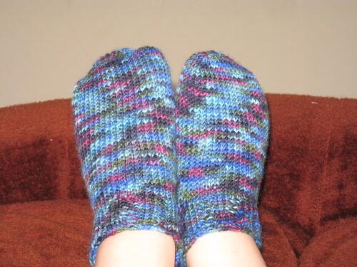 Yvette's booties