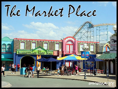 The Market Place & Foot Hall