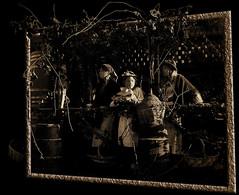 Out of... Season! (Firenzesca) Tags: autumn sepia vintage season 3d women wine tuscany frame autunno vino vendemmia cornice outofbounds oob outofseason stagione vintagetime fuoristagione theperfectphotographer alarecherchedutempperdu