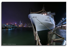 Costa Allegra (DanielKHC) Tags: longexposure cruise costa skyline night digital boat high bravo ship cityscape dynamic sony hong kong alpha kowloon range dri increase hdr a100 allegra habour blending dynamicrangeincrease firstquality interestingness180 4exp tamron1118mm danielcheong danielkhc explore29mar08