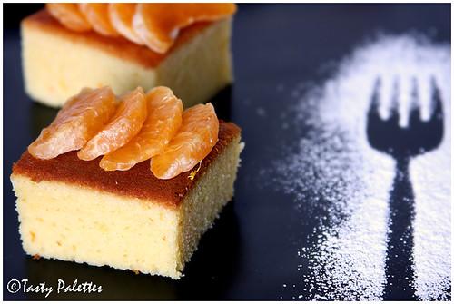 Tangerine Olive Oil Pound Cake