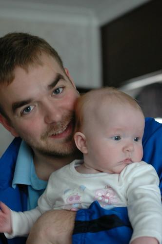 Lauren & daddy