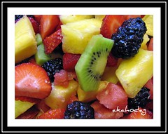 A Healthy Dose of Color (akahodag) Tags: color fruit berry vivid loveit pineapple kiwi fruitsalad breathtaking top20foodpixmmmm 10faves 25faves abigfave colorphotoaward eperke colourartaward betterthangood theperfectphotographer yourpreferredpicture spiritofphotography flickrsrainbowpics