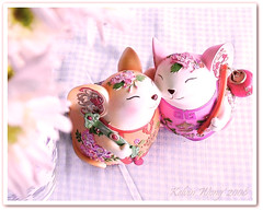 Kiss Kiss!!  (Kelvin Wong (Away)) Tags: cute love mouse kiss decoration chinesenewyear romance chinesetraditional blueribbonwinner aplusphoto kelvinwong piscesromance yearofrat