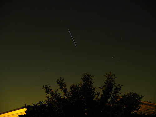 ISS Pass 22 May 2008 - North London