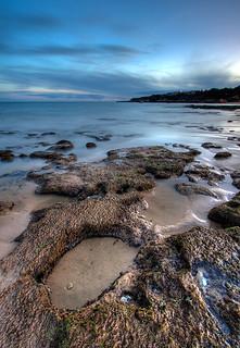 Praia da Oura Shoreline