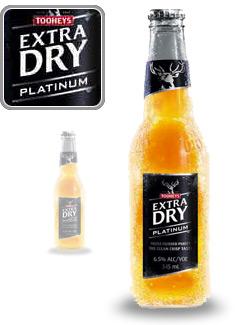 Tooheys Extra Dry Platinum