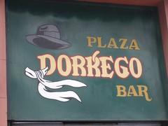 Buenos Aires - San Telmo - place dorrego bar