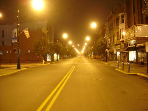 Bradford PA, summers night, 2am