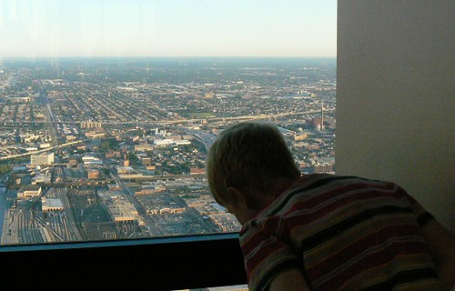 2007-07-20 looking down from Sears Tower