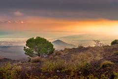 view (Michele Naro) Tags: catania etna sicily sicilia sizilien sicile sea see samyang85mmf14 italien italy italia italie iamnikon nikond80 nikon sunset