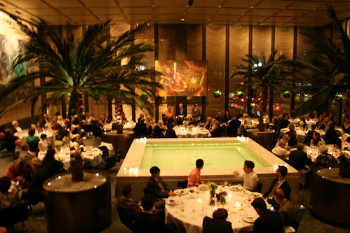 The Pool Room at the Four Seasons (photos courtesy of the Solomon R. Guggenheim Foundation)