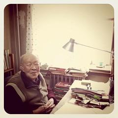 百岁老人周有光笑谈世界民主化浪潮