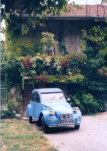 2CV - Evian les Bains- France by good mood factory