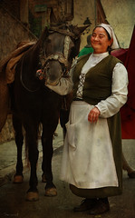 pagesa (Seracat) Tags: canon medieval catalunya montblanc tarragona cavall conca ase catalogne santjordi concadebarber pagesa setmanamedieval edatmitjana seracat