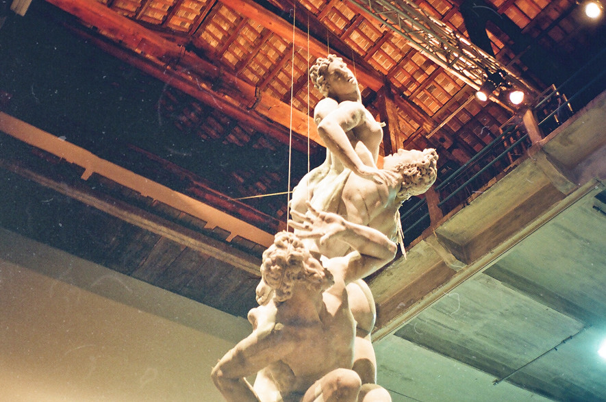 Urs Fisher, _Untitled_, statua di cera, Arsenale Corderie_Artiglierie
