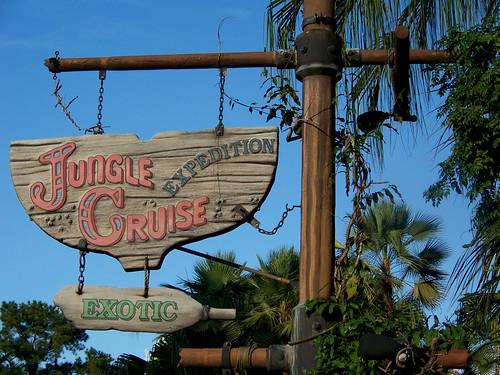 Jungle Cruise Sign