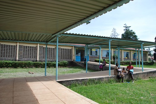 Wards at the Kilgoris District Hospital