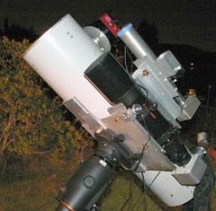 Astrophoto session, close up (edhiker) Tags: astrophoto edhiker autoguider 8inf4 st8300