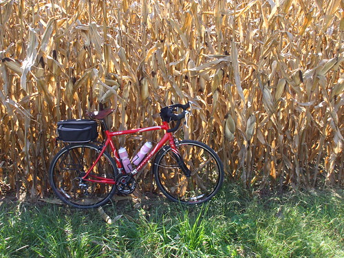 Bicycle, corn