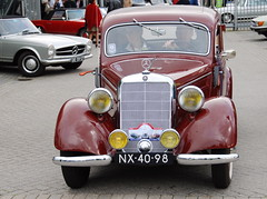 Mercedes Meeting: 1952 Mercedes-Benz 170 VA (Michiel2005) Tags: auto car mercedes victoria mercedesbenz 170 trafficator 1car w136 najaarsevenement