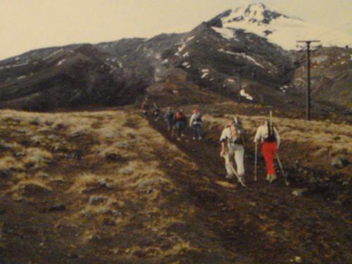 Caminhada ao Vulcão Villa Rica, no Chile