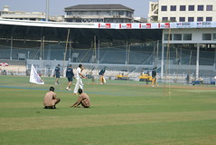 cricket practice at bradbourne stadium mumbai india