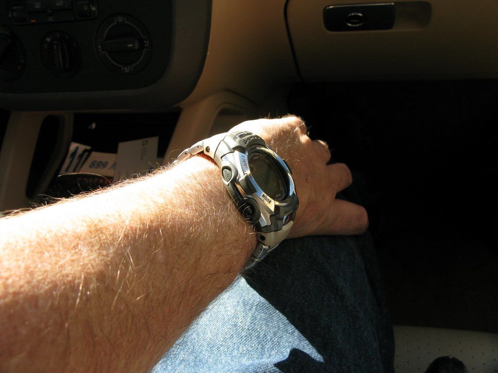My atomic timepiece