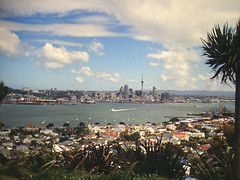 Auckland View from Mount Victoria