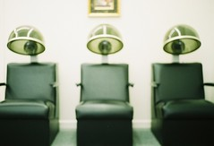 beauty parlor (lisa scheer) Tags: leica northcarolina eden beautyparlor portra400