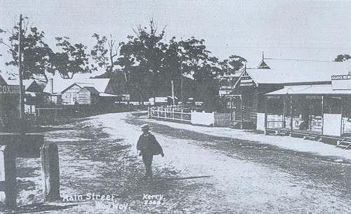 The Boulevard Woy Woy early 1900s