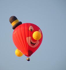 A Strange Sight From Our Garden (robelsas) Tags: fab sky holland netherlands garden backyard hotair ballon balloon nederland tuin smrgsbord hetelucht aplusphoto superbmasterpiece ysplix colourartaward platinumheartaward artlegacy