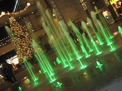 winter wonderland (4) (_melika_) Tags: christmas water lights christmastree hollywood waterfountain hollywoodandhighland