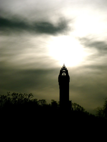 Dramatic Wallace Monument
