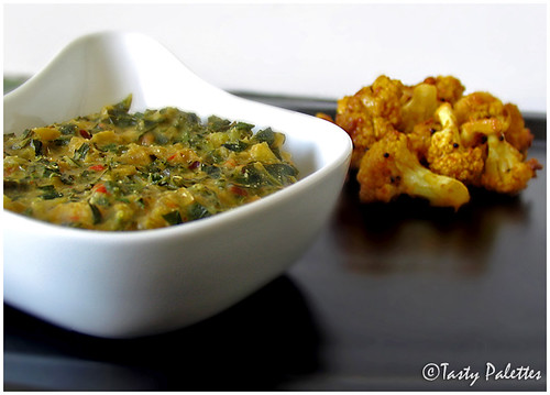 Collard Greens With Dal