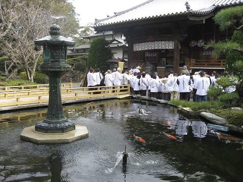 Shikoku pilgimage(1 Ryozenji Temple ,霊山寺)