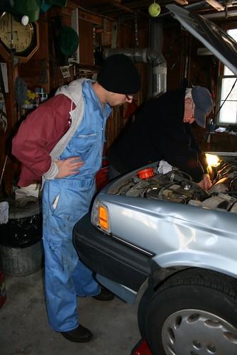 fixin car