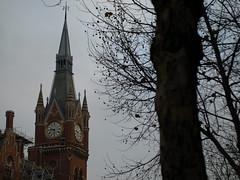 Clocktower, St Pancras International Railway Station (miltonmic) Tags: greatbritain england london victorian clocktower railwaystation stpancras e510 olympuse510 miltonmic
