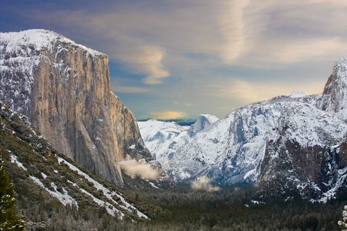 Halfdome early morning