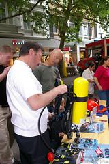 Feuerwehr in der Öffentlichkeit