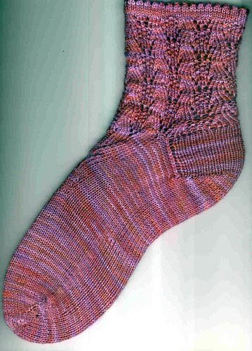 Blocked Flow Motion sock